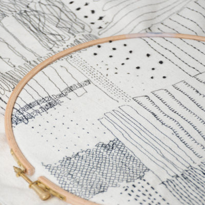 Explore Mark making with stitch