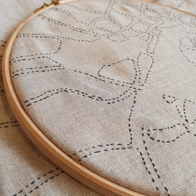 Kantha embroidery with Ekta Kaul