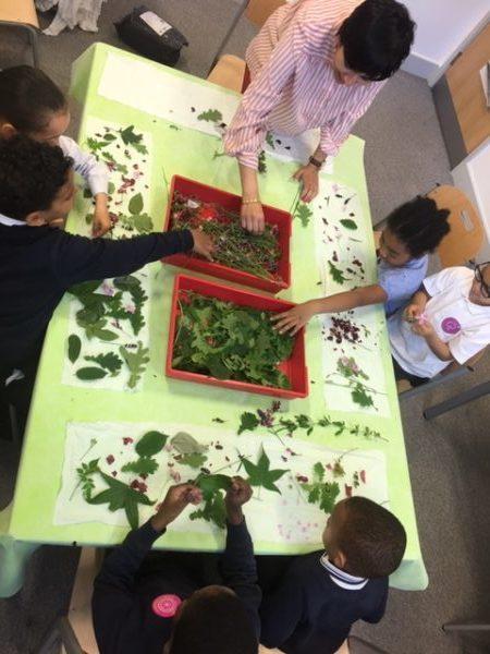 Ekta Kaul Workshop with Children at St Thomas's School