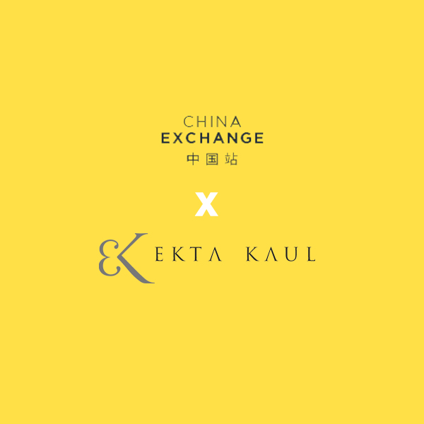 Ekta Kaul artist residency at China Exchange