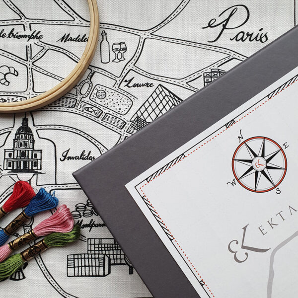 Paris Map Kit