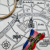 Paris Map Embroidery Kit