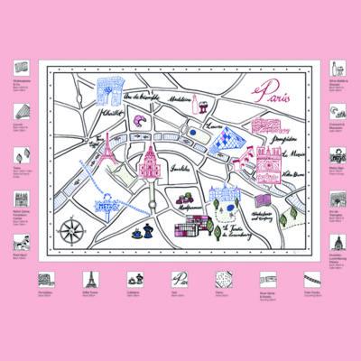 Paris Map Kit Stitch Guide 2