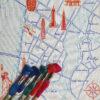 Ekta Kaul New York Map Embroidery Kit Lower Manhattan