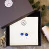 Cobalt Blue Ear rings