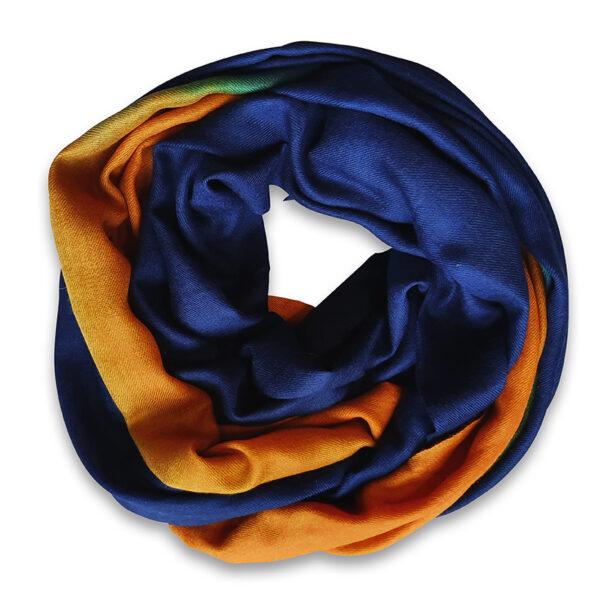 Handwoven cashmere scarf Knightsbridge