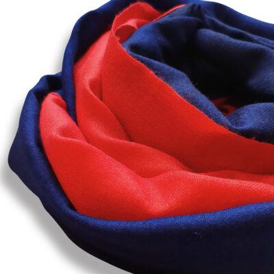 Handwoven Cashmere scarf Kensington 2